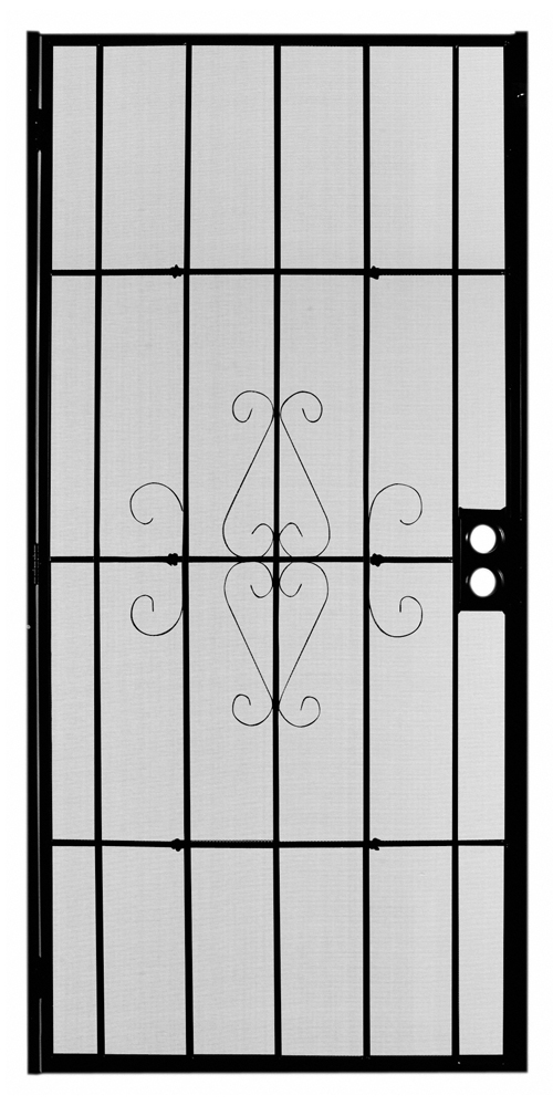 Magnum Black Security Door