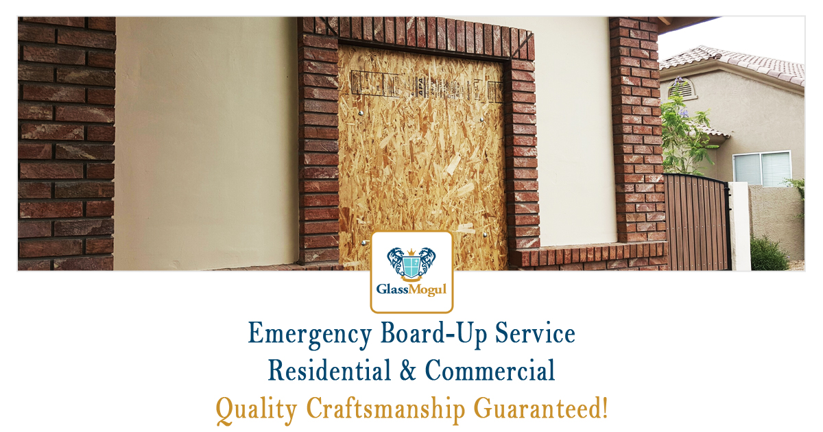 Residential & Commercial Board-Up Service