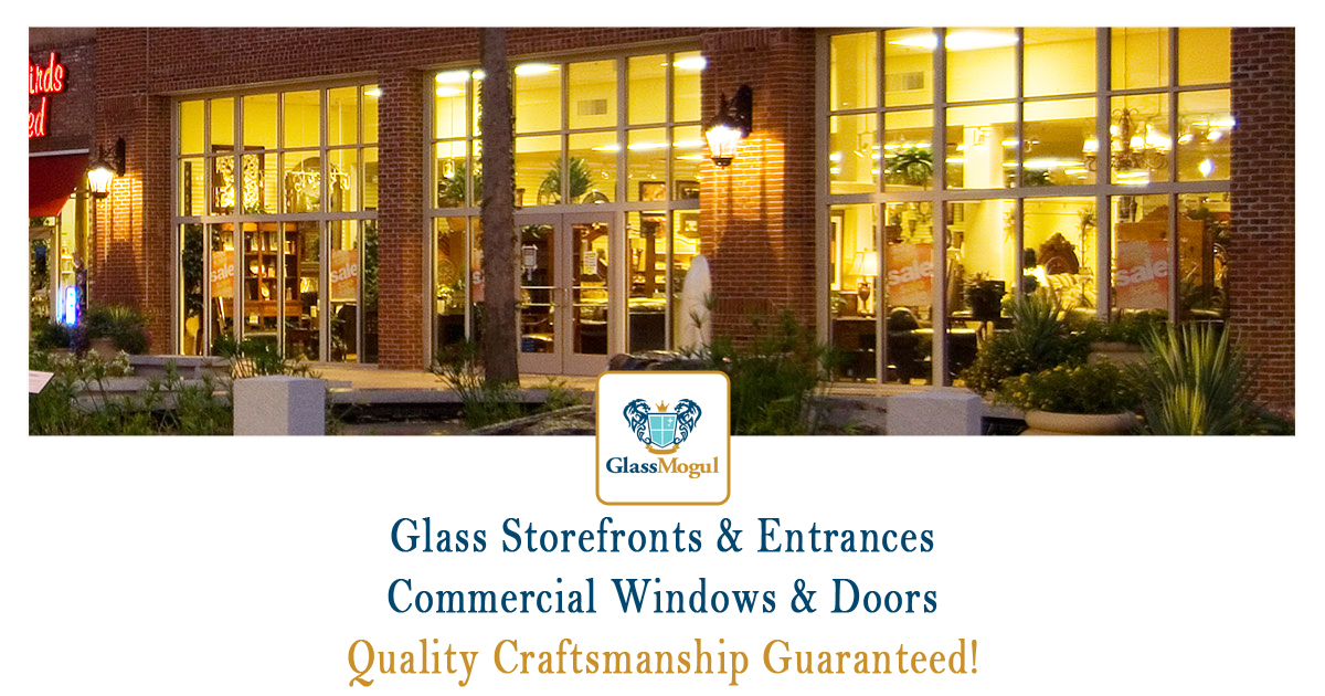 Glass Storefronts