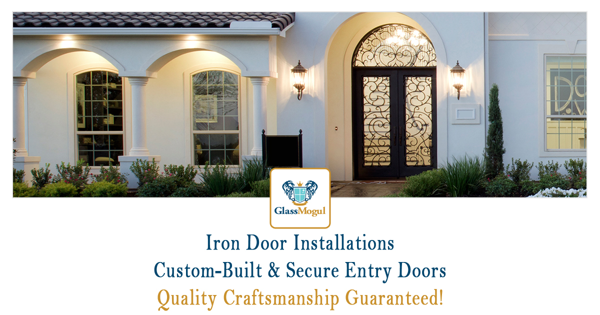 Custom Iron Doors