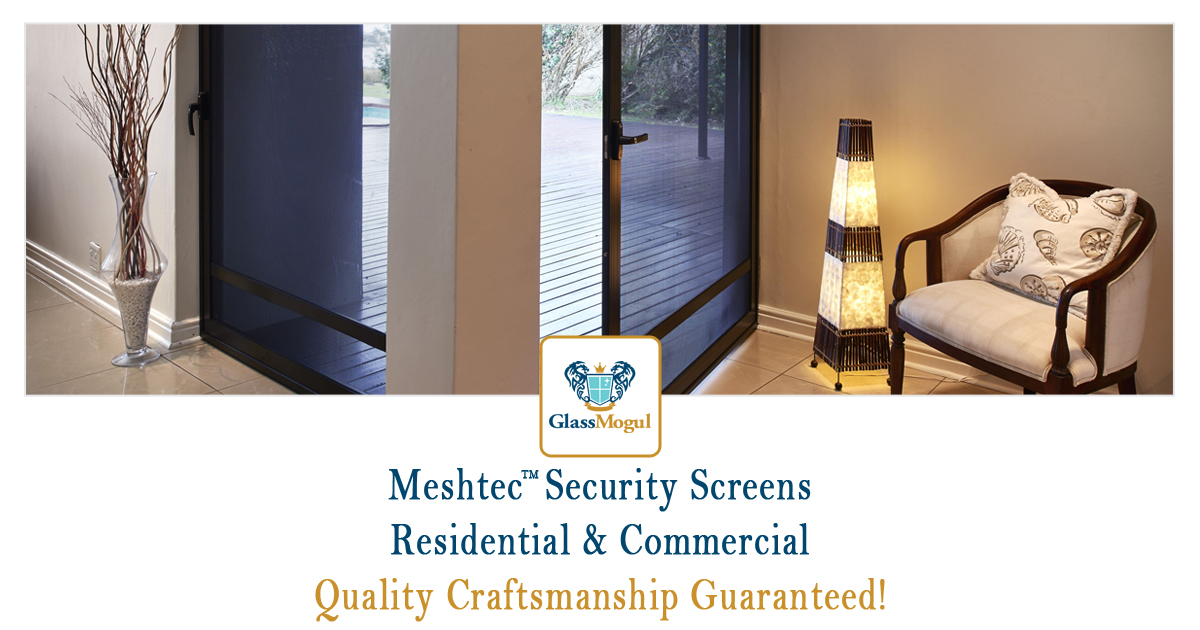 Meshtec Security Screen Door
