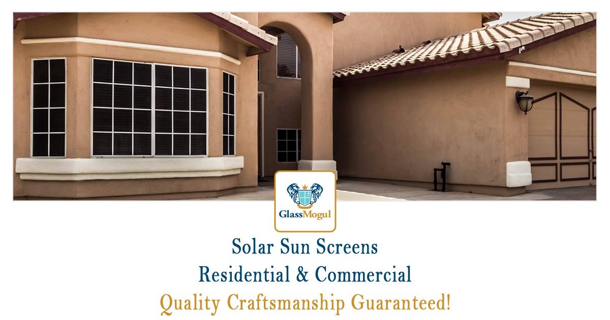 Home Window Solar Screens