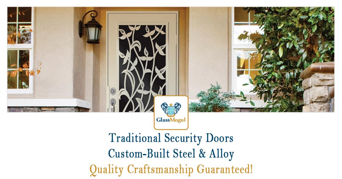 Traditional Home Security Door