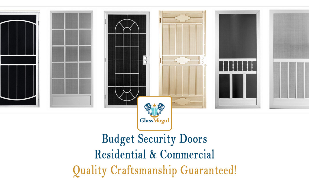 Cheap Budget Security Doors