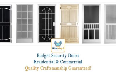 Cheap Budget Security Doors