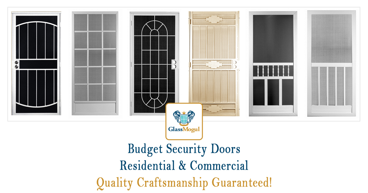 Cheap Budget Security Doors Glassmogul