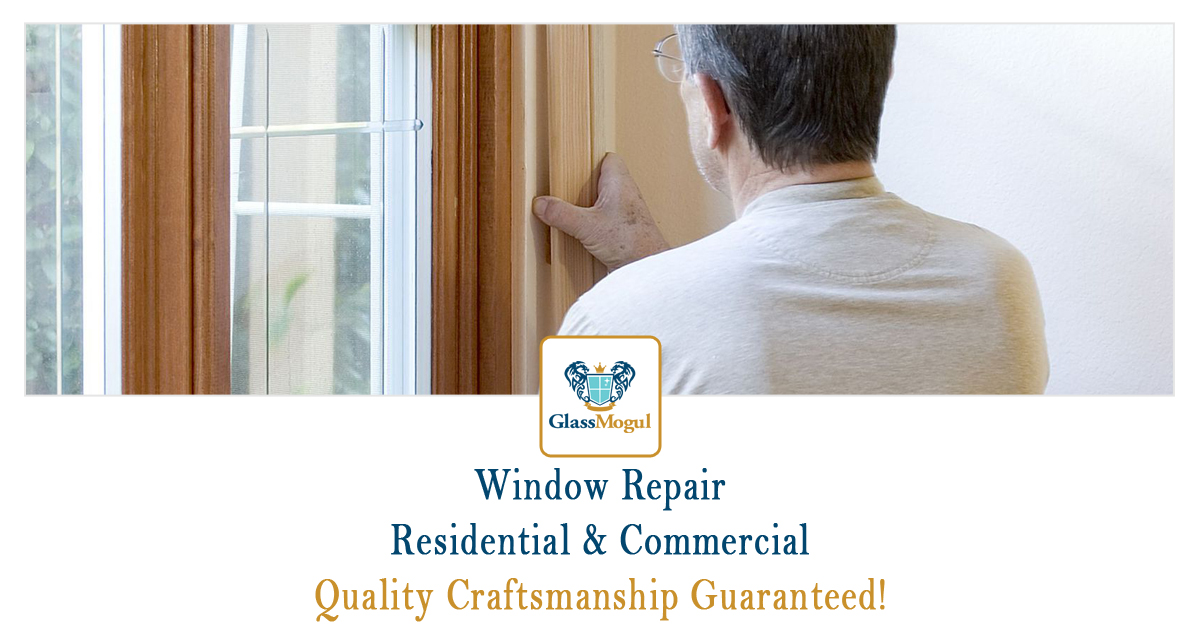 Broken Home Window Repair